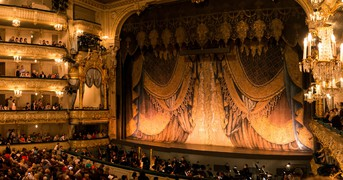 The theatre curtain