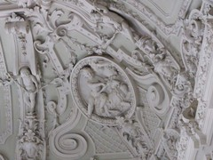 03 Stucco moulding of the main staircsae