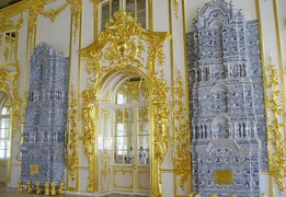 Interiors of the  Catherine palace