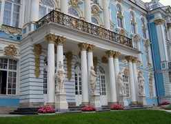 Main entrance of the Catherine palace
